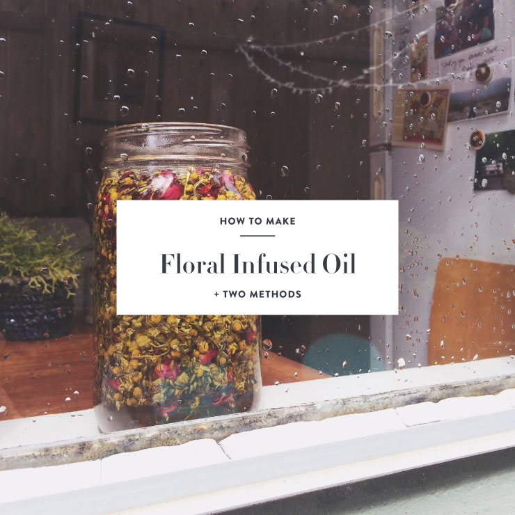 diy herbal infused oil