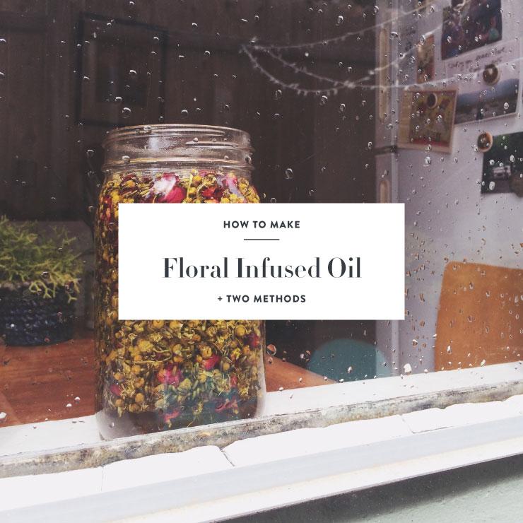diy herbal infused oil